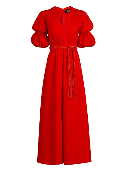 Belted Surplice Maxi Dress - Gabrielle Union Collection - New York & Company