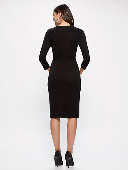 Dresses for Women Black Sweater