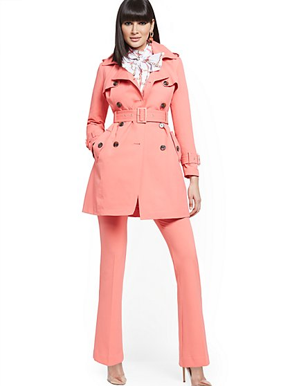 Belted Trench Coat - New York & Company