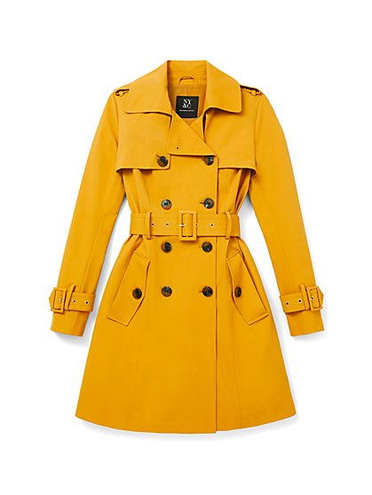 Belted Trenchcoat - 7th Avenue - New York & Company