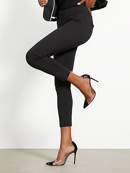 Black Ankle Pant - Full-Time Stretch - 7th Avenue - New York & Company
