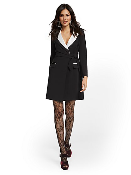 Black Blazer Dress - New York & Company