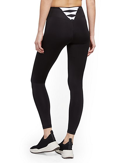 Black Crisscross-Back Legging - New York & Company