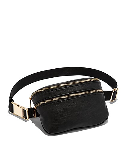 Black Fanny Pack - New York & Company