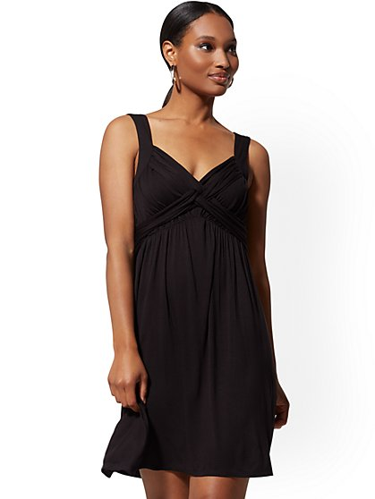 Black Goddess Shift Dress - Soho Street - New York & Company