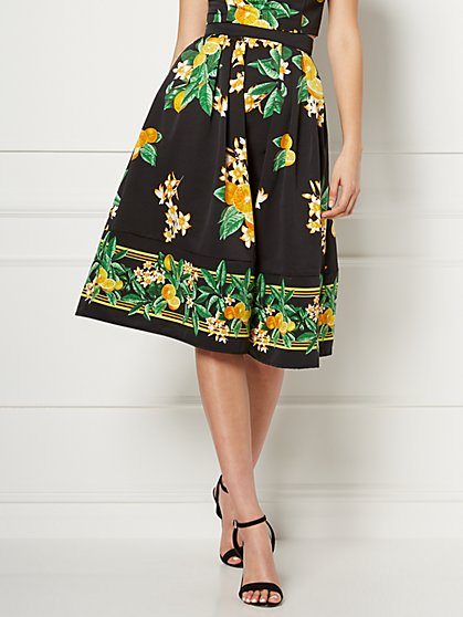 Black Maddie Skirt - Eva Mendes Collection - New York & Company