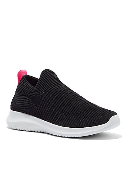 Black Slip-On Sneaker - New York & Company