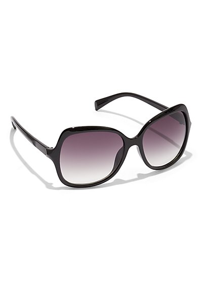 Black Square Sunglasses - New York & Company