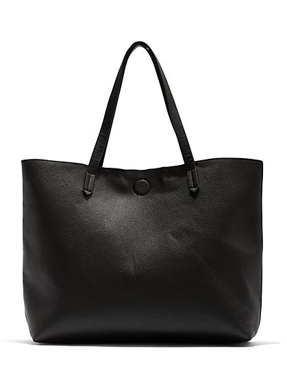 c6f24a085fa9d Black Tote Bag - New York & Company