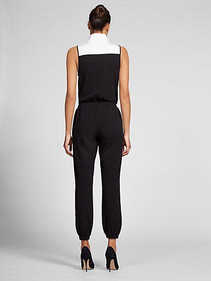 216df81ebed2 ... Black   White  Rule the World  Jumpsuit - Gabrielle Union Collection -  New York