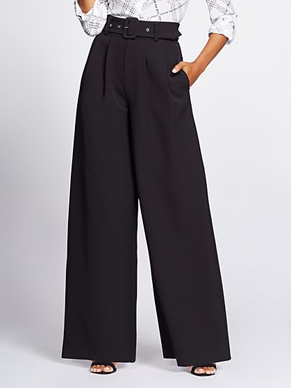 Black Wide-Leg Pant - Gabrielle Union Collection - New York & Company