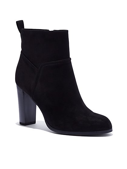 Block-Heel Bootie - New York & Company