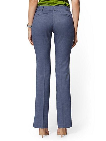 33bcd58128f ... Blue Straight Leg Pant - Signature Fit - 7th Avenue - New York & Company