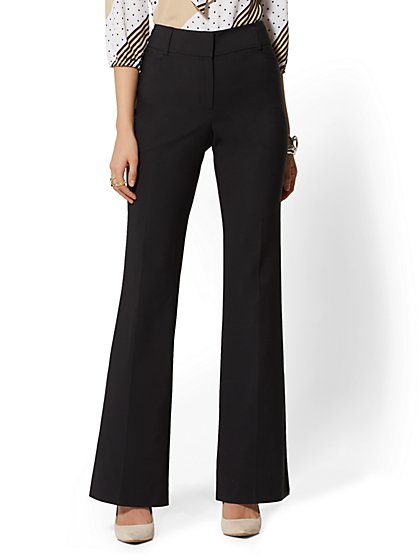 Bootcut Pant - Mid Rise - All-Season Stretch - 7th Avenue - New York & Company