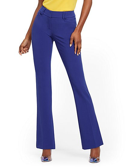 Bootcut Pant - Signature Fit - Double Stretch - 7th Avenue - New York & Company