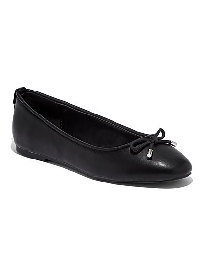 Bow-Accent Ballet Flat - New York & Company