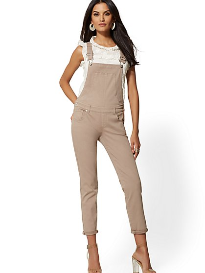 Boyfriend Denim Overall - New York & Company
