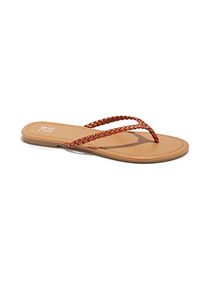 4dd6c85744b Braided Flip-Flop Sandal - New York   Company ...