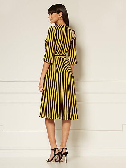 a3ad23d46b69c ... Brenda Stripe Wrap Maxi Dress - Eva Mendes Collection - New York    Company ...