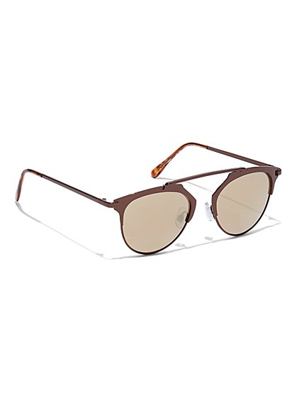 Brow-Bar Sunglasses - New York & Company