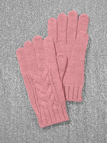 Cable-Knit Gloves - New York & Company