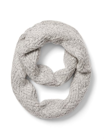 Cable-Knit Infinity Scarf - New York & Company