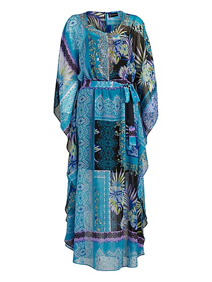Caftan Maxi Dress - New York & Company