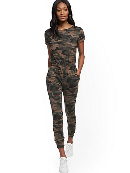 Camo Jumpsuit - New York & Company