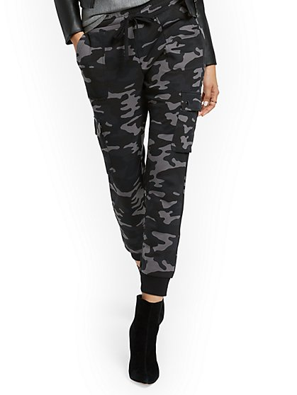 Camo-Print Cargo Pant - Everywhere Collection - New York & Company