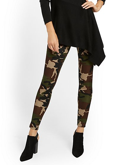 Camo-Print Legging - New York & Company