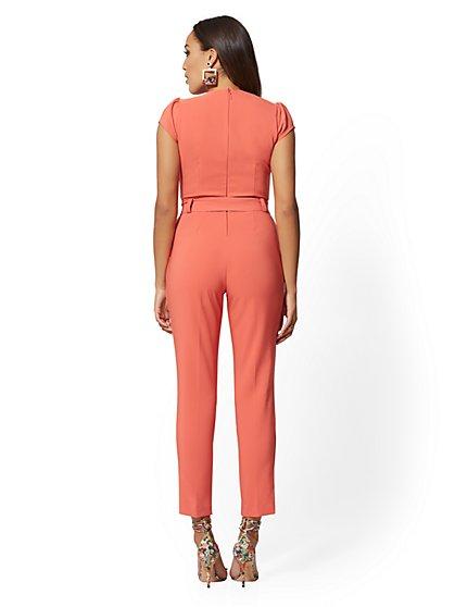 fa8d1029fdd0 ... Cap-Sleeve Madie Jumpsuit - 7th Avenue - New York   Company