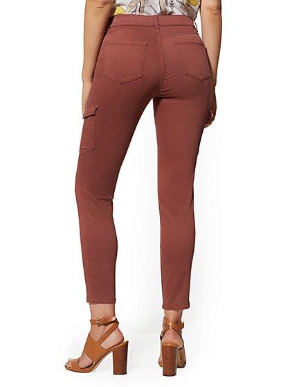 8bdca0ad061 ... Cargo Ankle Legging - Rust - Soho Jeans - New York & Company