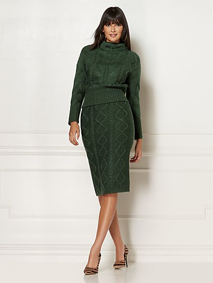 Carlotta Sweater Skirt - Eva Mendes Collection - New York & Company