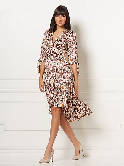 Cassidy Wrap Dress - Eva Mendes Collection - New York & Company