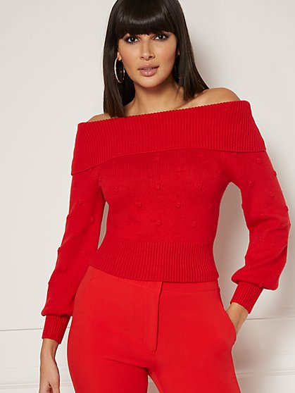 Cher Off-The-Shoulder Sweater - Eva Mendes Collection - New York & Company
