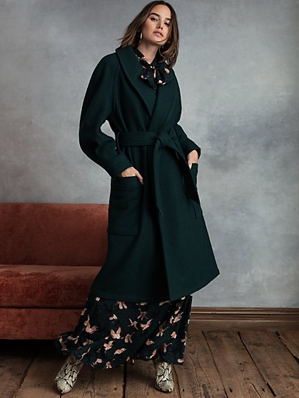 City Wrap Coat - New York & Company