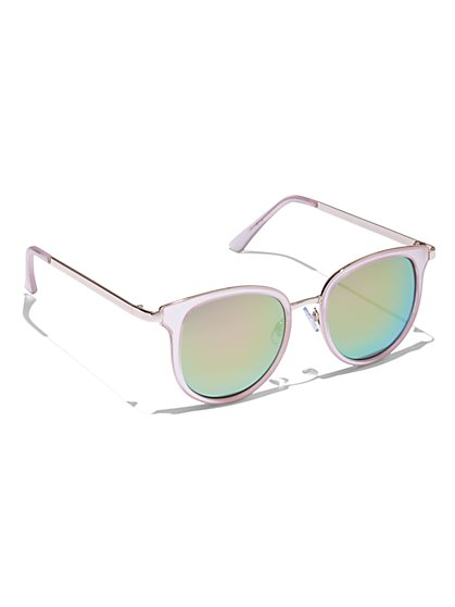 Clear-Frame Sunglasses - New York & Company