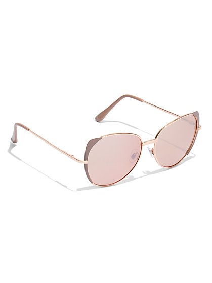 Color-Lens Sunglasses - New York & Company
