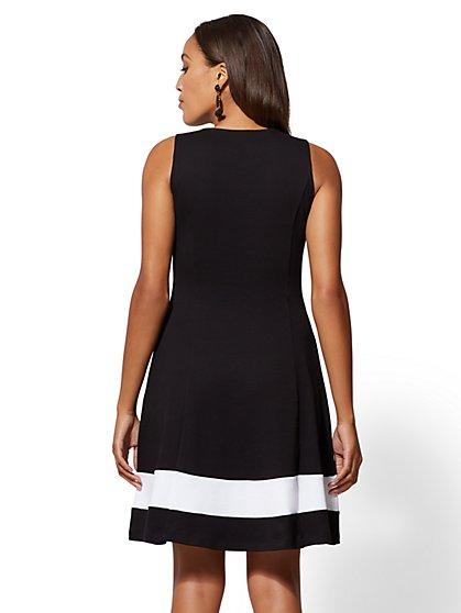 Black Cotton Dresses for Women