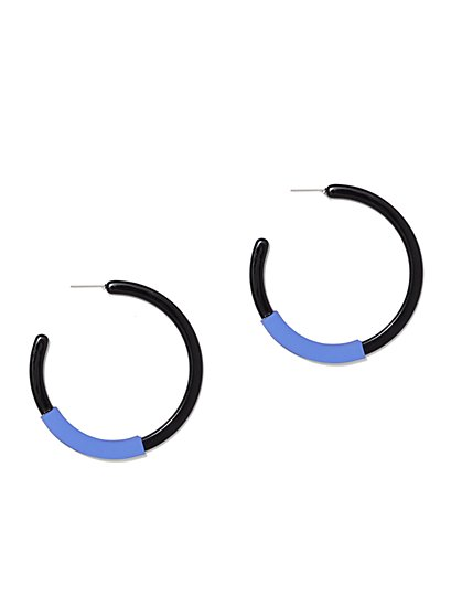 Colorblock Hoop Earring - New York & Company