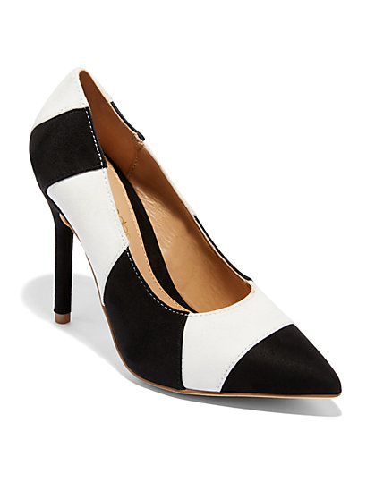 Colorblock Pump - Eva Mendes Collection - New York & Company