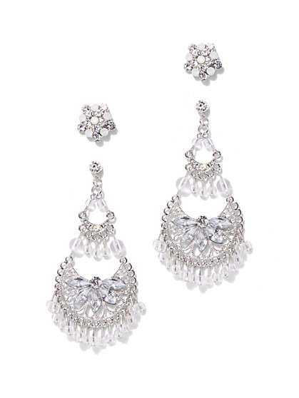 Crescent Chandelier Earrings - New York & Company