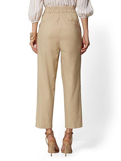 ae8fbb0e2e2d ... Crop Straight Leg Pant - Signature Fit - 7th Avenue - New York & Company