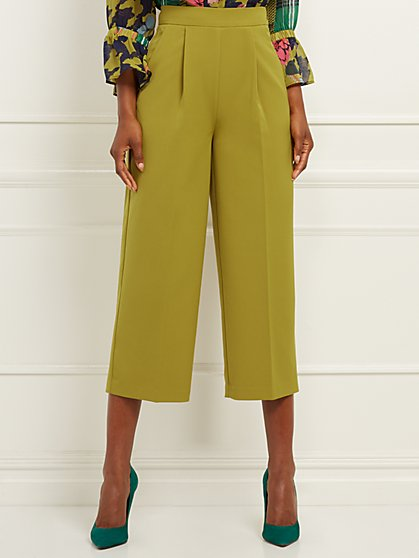 Crop Wide-Leg Pant - Signature - 7th Avenue - New York & Company