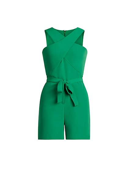 Cross Front Romper - New York & Company
