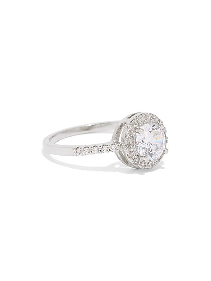 Cubic Zirconia Cocktail Ring - New York & Company