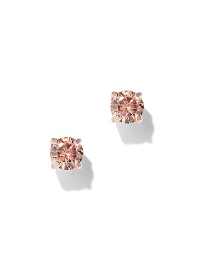 Cubic Zirconia Post Earring - New York & Company