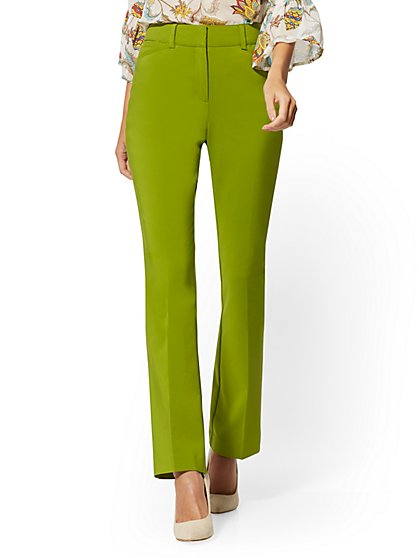 Curvy Bootcut Pant - All-Season Stretch - 7th Avenue - New York & Company