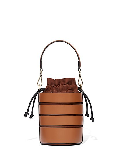 Cutout Bucket Bag - Eva Mendes Collection - New York & Company