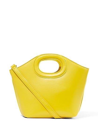 998c12869d Cutout Handle Tote Bag - New York & Company ...